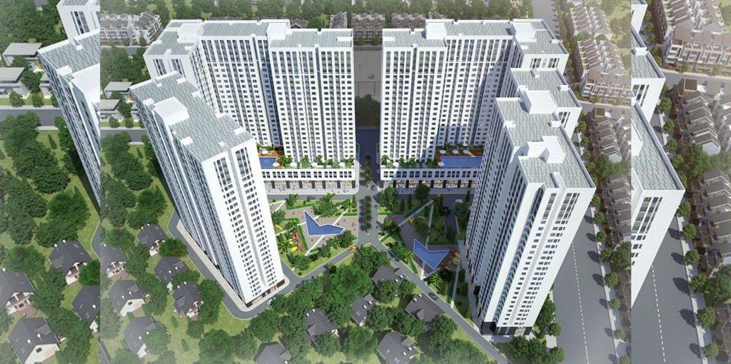 Phối cảnh dự án căn hộ Aio City