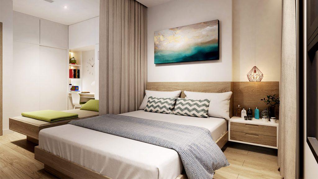 Phối cảnh căn hộ nghỉ dưỡng Aio City