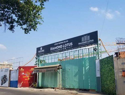 Tiến độ Diamond Lotus Lake view Tân Phú – Cập nhật dự án căn hộ