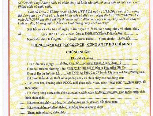 Pháp lý Picity High Park Thạnh Xuân Quận 12