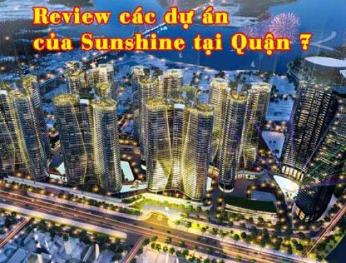 Review Sunshine Diamond River và City Sài Gòn