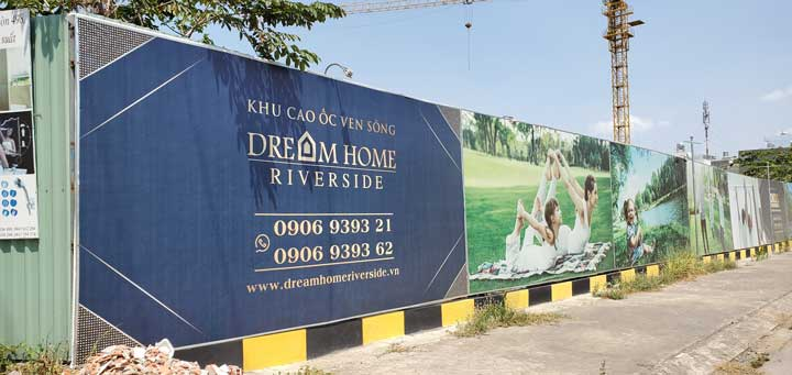 tiến độ dream home riverside
